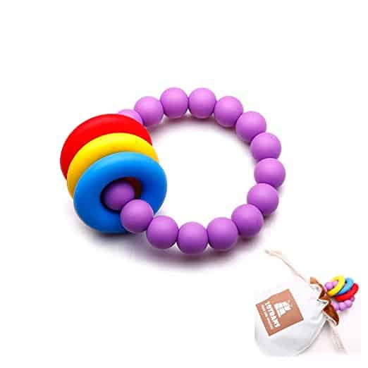 zotrans silicone teething rings
